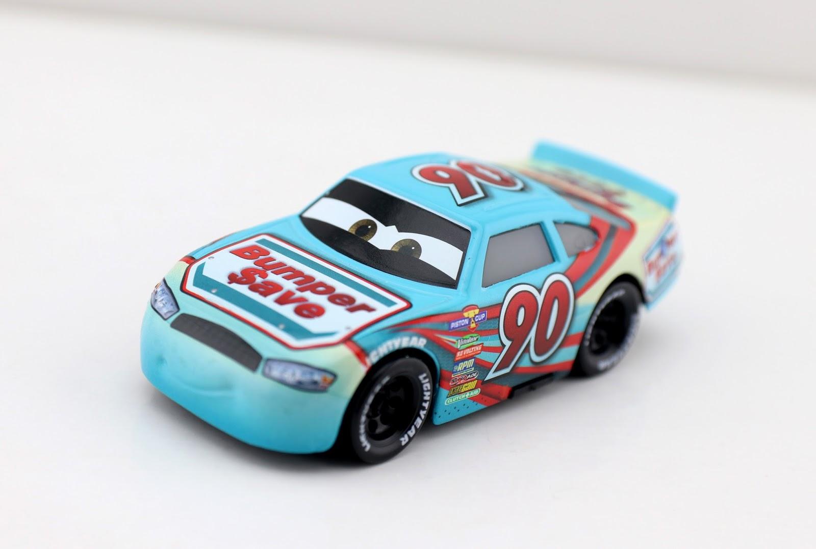 Cars 3: Ponchy Wipeout (Bumper Save) mattel diecast