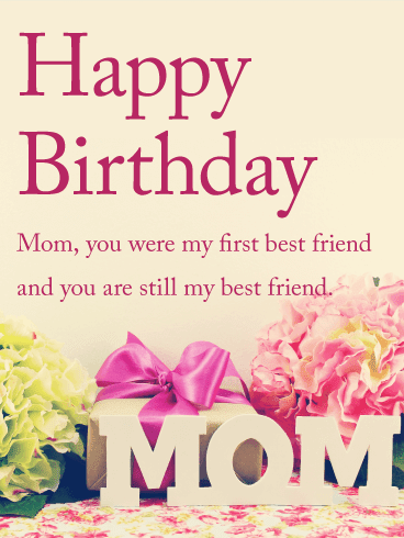 Birthday Wishes For Mom Happy Birthday Mother Greeting Cards