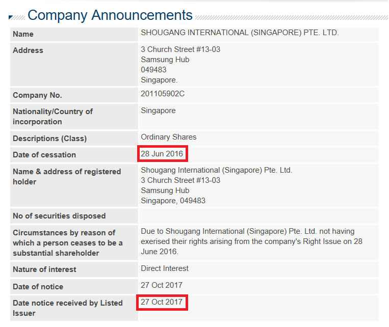 corporate governance in malaysia hiap teck untimely announcement by