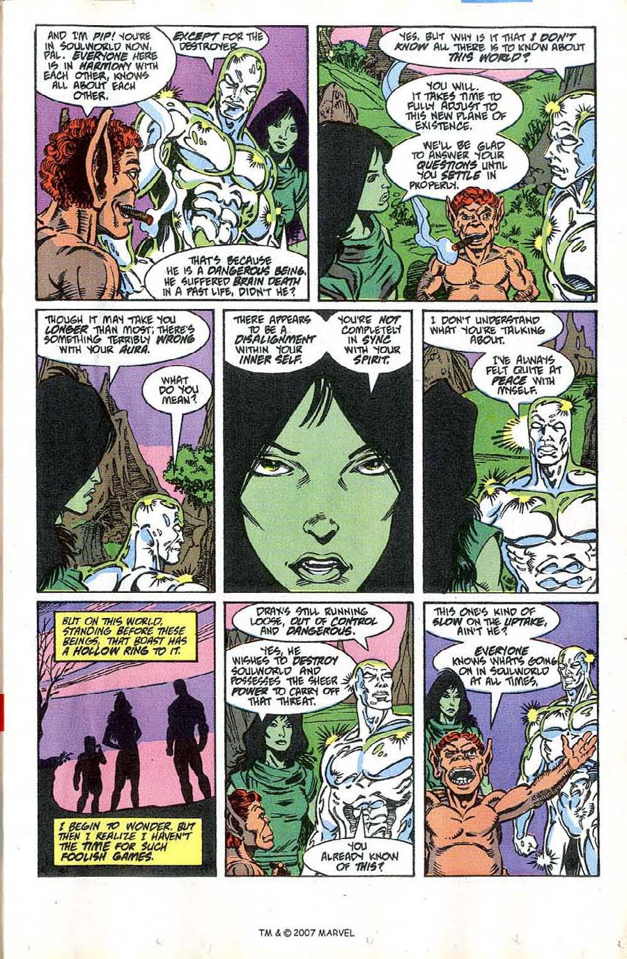 Read online Silver Surfer (1987) comic -  Issue #46 - 13