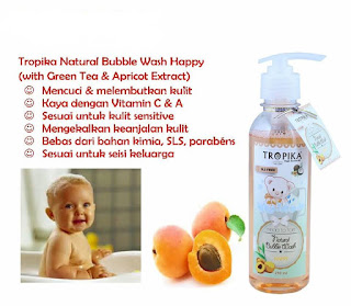 TROPIKA NATURAL BUBBLE WASH