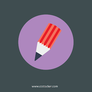 Pencil Flat icon free