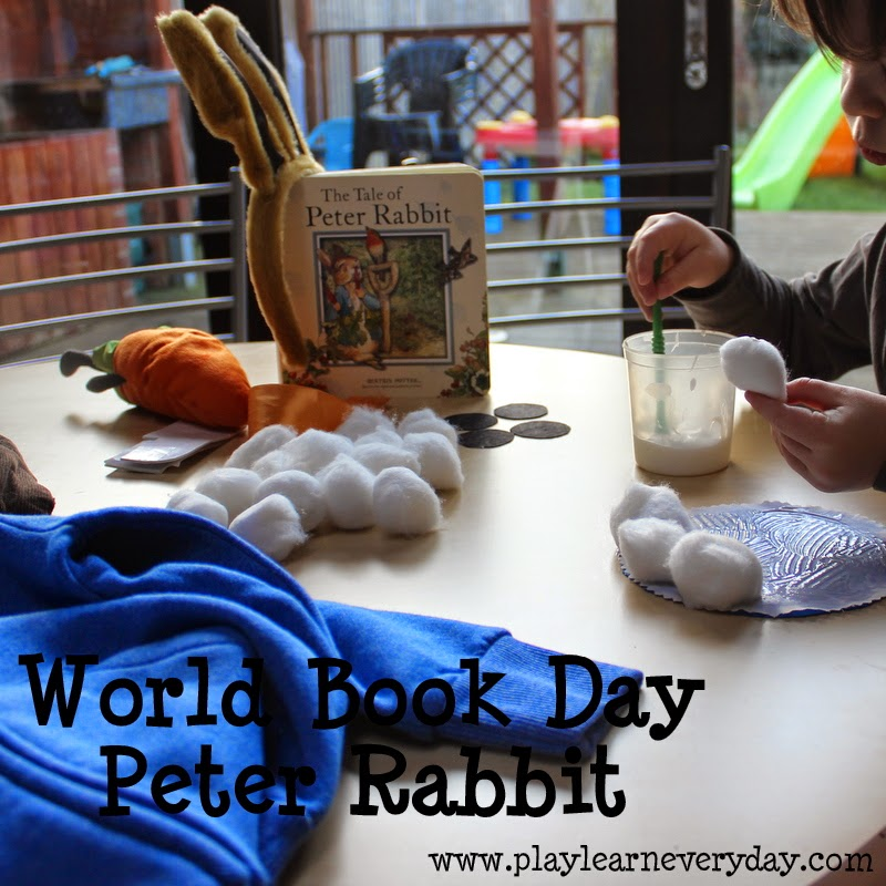 World Book Day Peter Rabbit Play And Learn Every Day