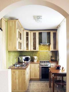 Desain Dapur Kecil Mungil Sederhana