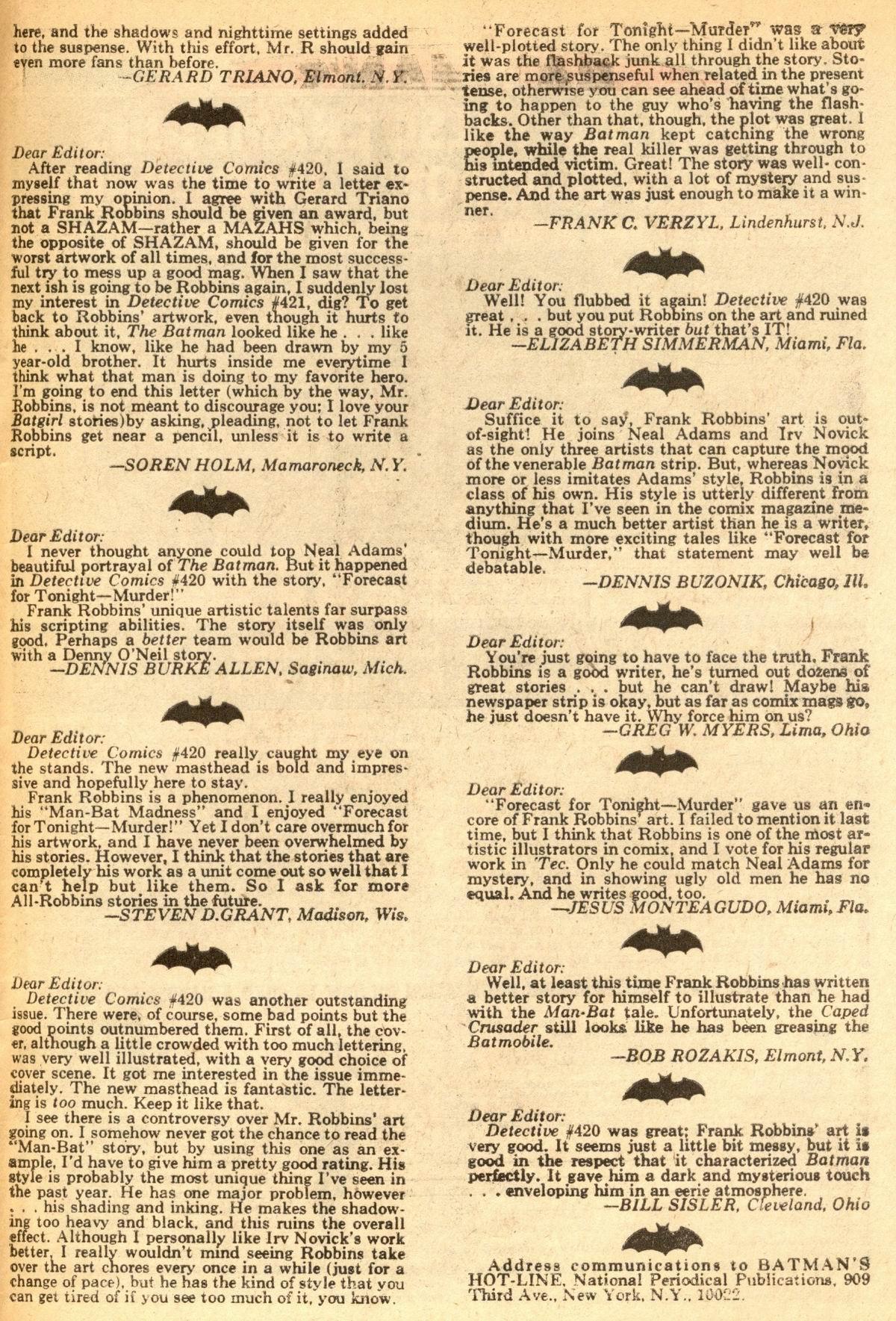 Detective Comics (1937) 424 Page 48
