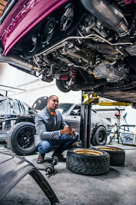 Nigerian, Bisi Ezerioha Is The Builder Of The Fastest Carbureted Front-Wheel Car In The World