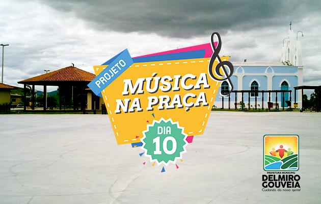 """Projeto """"Música na Praça"""" será implantado pela Prefeitura Municipal de Delmiro Gouveia"""