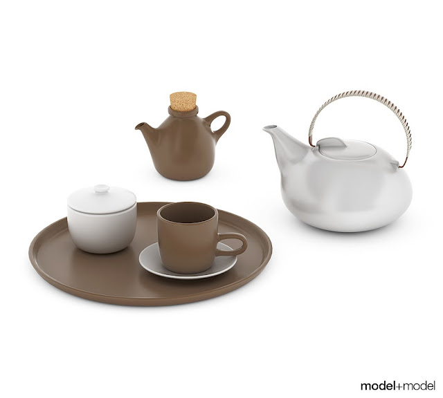 [3D Model Free] Decorative Kitchen models set 1