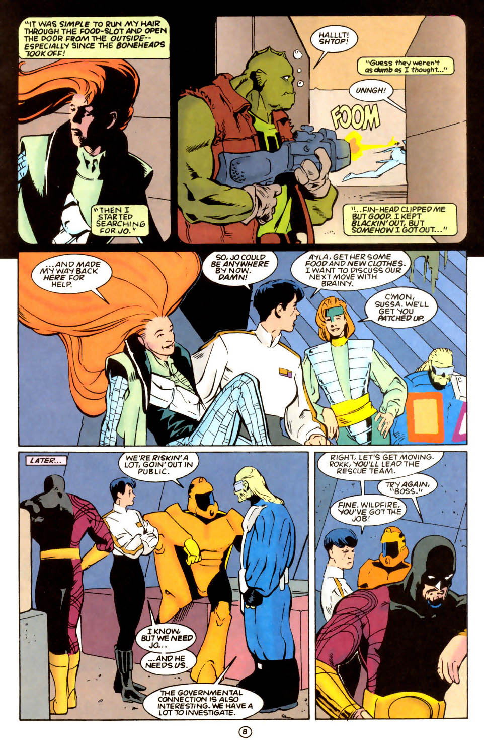 Legion of Super-Heroes (1989) 55 Page 8