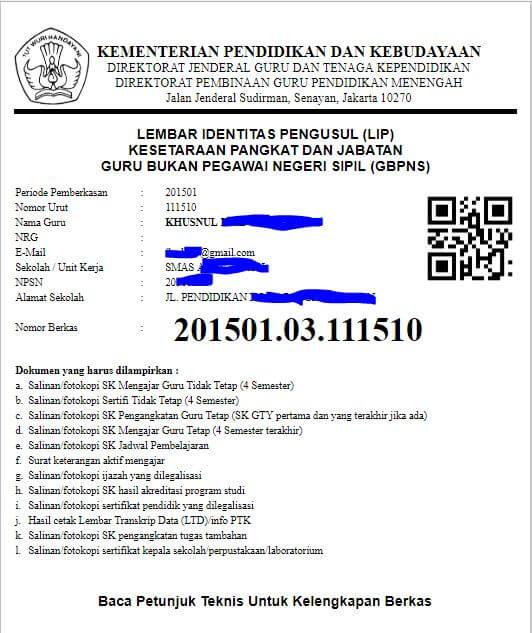 Simtara Inpassing JabFung GBPNS: Cara Cetak LEMBAR IDENTITAS PENGUSUL (LIP)