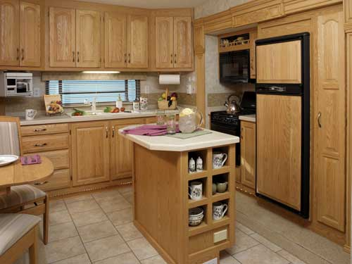Installing Pine Kitchen Cabinets For Render An Organized ...