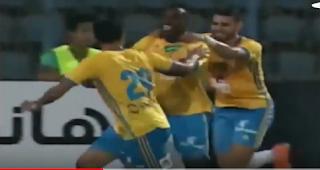 الإسماعيلى يحقق أول فوز بالدورى هذا الموسم هزم المقاصة بهدف بافور