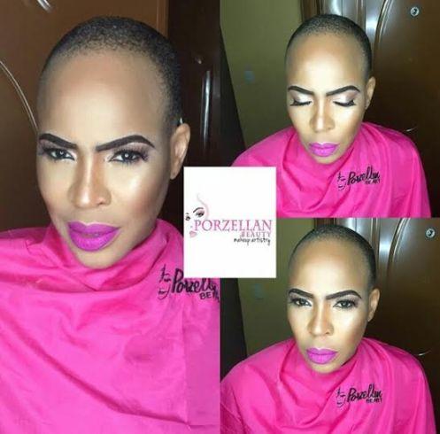 Lovely makeup photos of Faithia Williams Balogun
