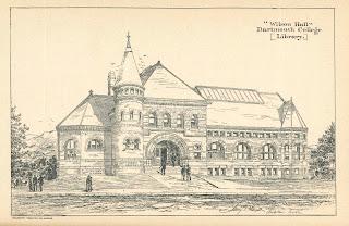 An illustration of Wilson Hall.