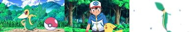Pokemon Capitulo 7 Temporada 14 Atrapar A Snivy Es Un Juego Dificil