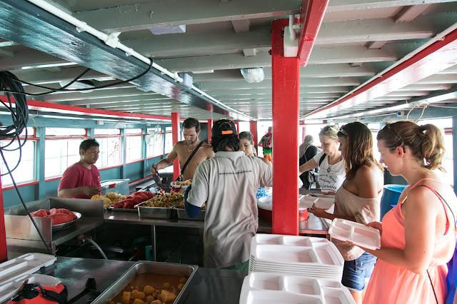 Pranzo in barca-Angthong national park