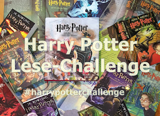 Harry Potter Sea of Books - Lese-Challenge Carlsen