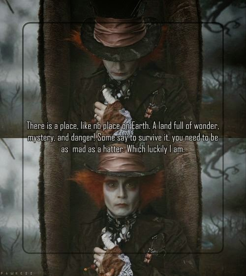 Mad Hatter Quotes: The Best Quotes
