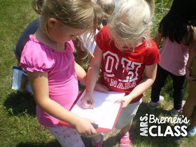 We're Going on a Bug Hunt! FREE Bug Scavenger Hunt Do you take your students outdoors to learn? You should! Students LOVE exploring nature! Give students clipboards and bug scavenger hunt sheets and have them explore outside to see how many different bugs they can find. Space is provided for students to add other creepy crawlies they find too! Take learning outside! #freebies #seasons #science #kindergarten #1stgrade #bugs #scavengerhunt