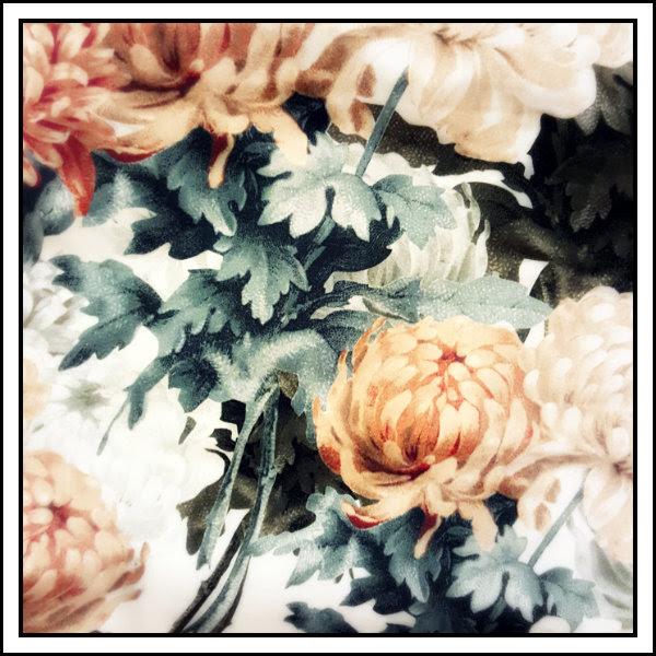 asos floral wiggle dress print