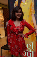 Mannara Chopra in deep neck Short red sleeveless dress Cute Beauty ~  Exclusive Celebrities Galleries 109.JPG