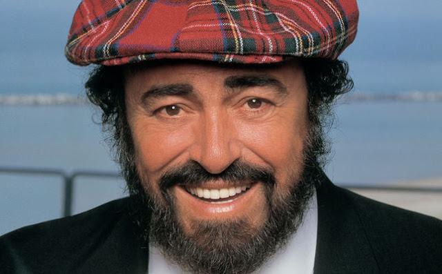 MIDI  KARAOKE  - Luciano Pavarotti