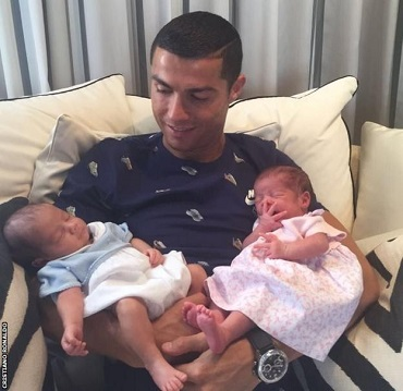 Photo of Cristiano Ronaldo, The Father of New Set of Twins