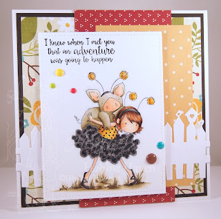 Heather's Hobbie Haven - Petunia Gets a Piggyback Card Kit
