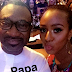 Billionaire, Femi Otedola's daughter, Cuppy, shares new photo of her Dad's phones