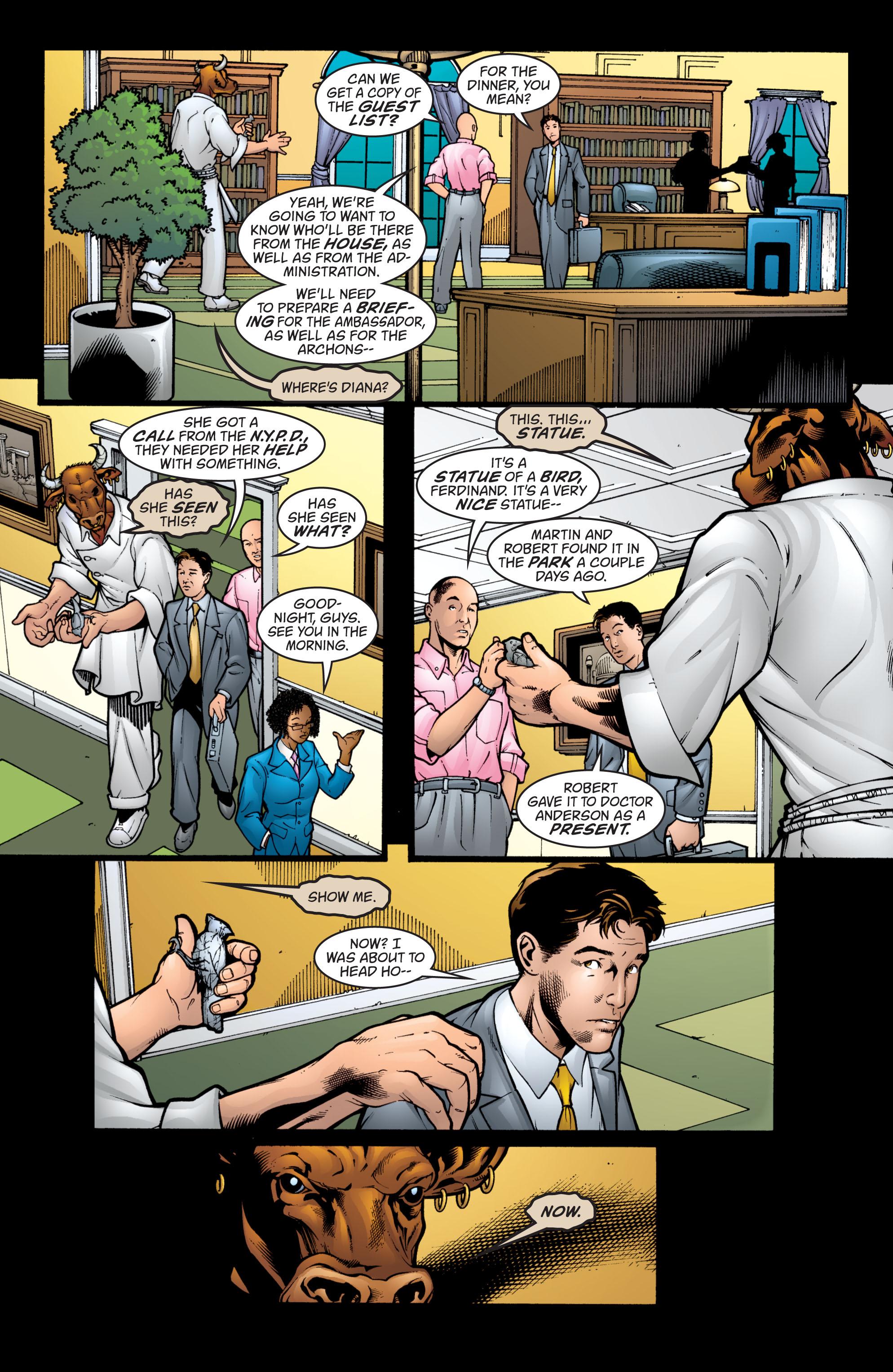 Read online Wonder Woman (1987) comic -  Issue #207 - 10