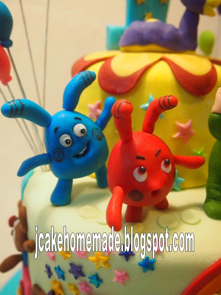 Jcakehomemade Baby Tv Birthday Cake