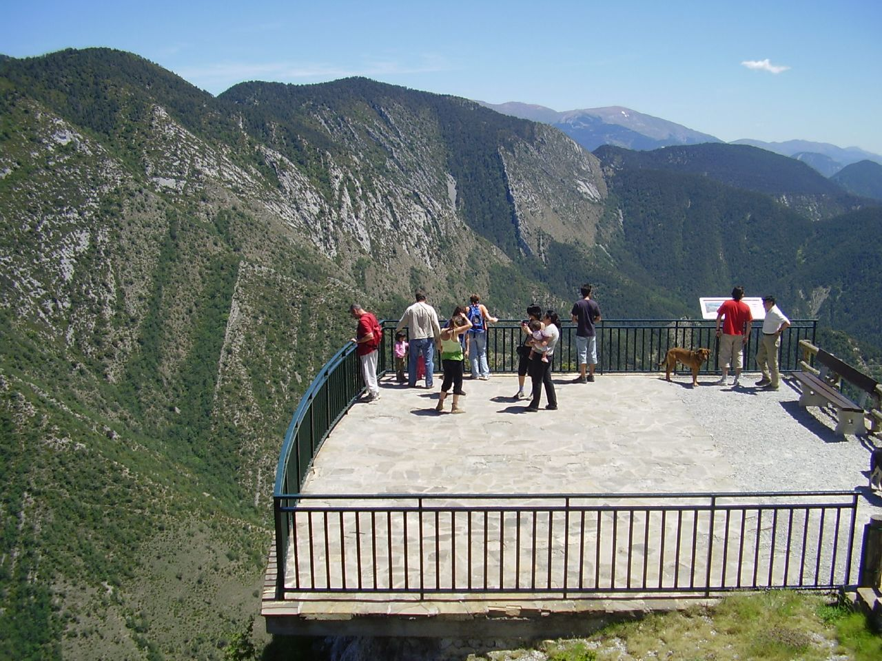 Mirador at Pedraforca Massif
