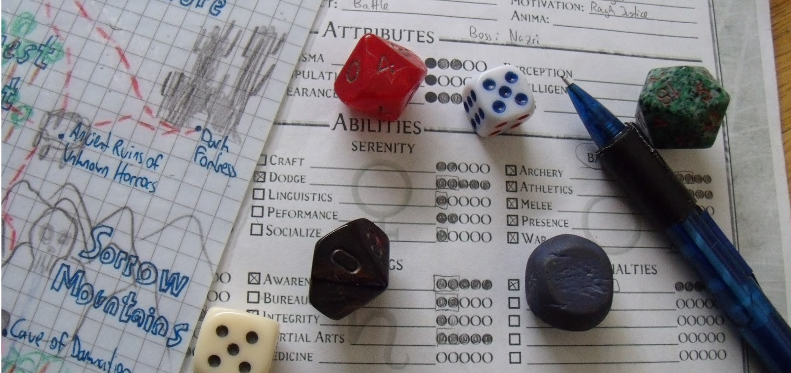 Tabletop role-playing game