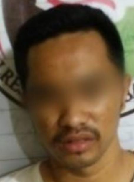 Salah seorang tersangka narkoba di Tanjungbalai.