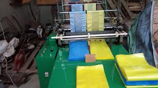 خط انتاج مصنع اكياس بلاستيك صغير