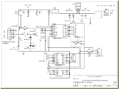 System circuit (not) Minimum (Evaluation Board) AT89C2051 and AT89C4051