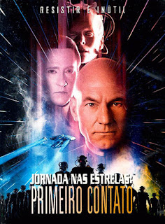 Jornada Nas Estrelas: Primeiro Contato - DVDRip Dublado