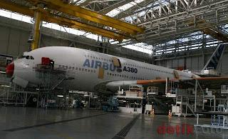 PT DI Pasok Komponen Tersulit dan Mahal untuk Pesawat Airbus 380