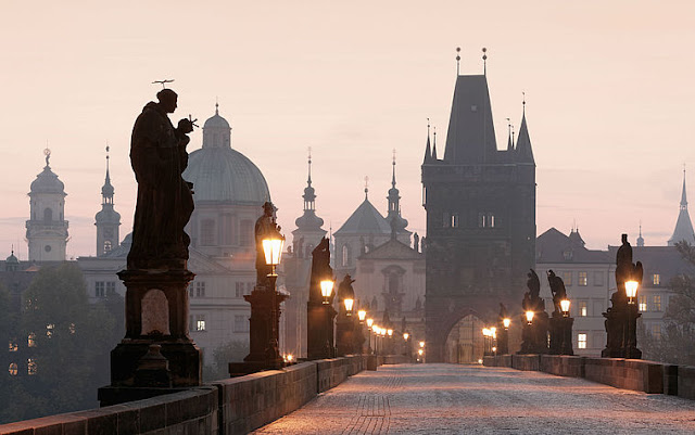 Ponte Carlos (Karlův most) em Praga