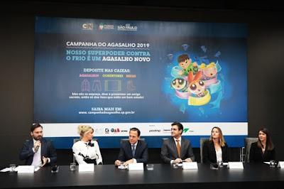 Filipe Sabará, Bia Doria, João Doria, Rodrigo Garcia, Luciana Garcia e Adriana Alcântara - Divulgação