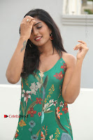 Actress Eesha Latest Pos in Green Floral Jumpsuit at Darshakudu Movie Teaser Launch .COM 0051.JPG