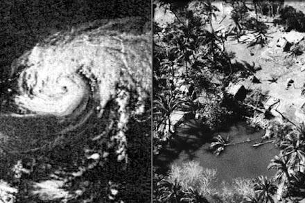 Ο κυκλώνας που γέννησε ένα κράτος