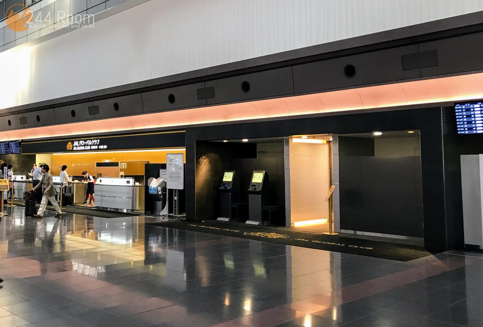 JALグローバルクラブエントランス JGC entrance haneda