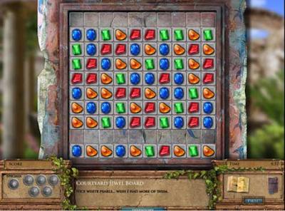 寶石探秘之謎3(Jewel Quest Mysteries The Seventh Gate),熱門的消除過關遊戲!