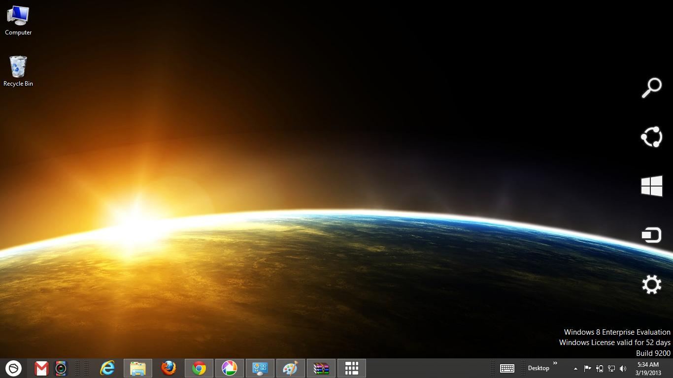 Download Gratis Tema Windows 7: Space Galaxy Windows 8 Theme