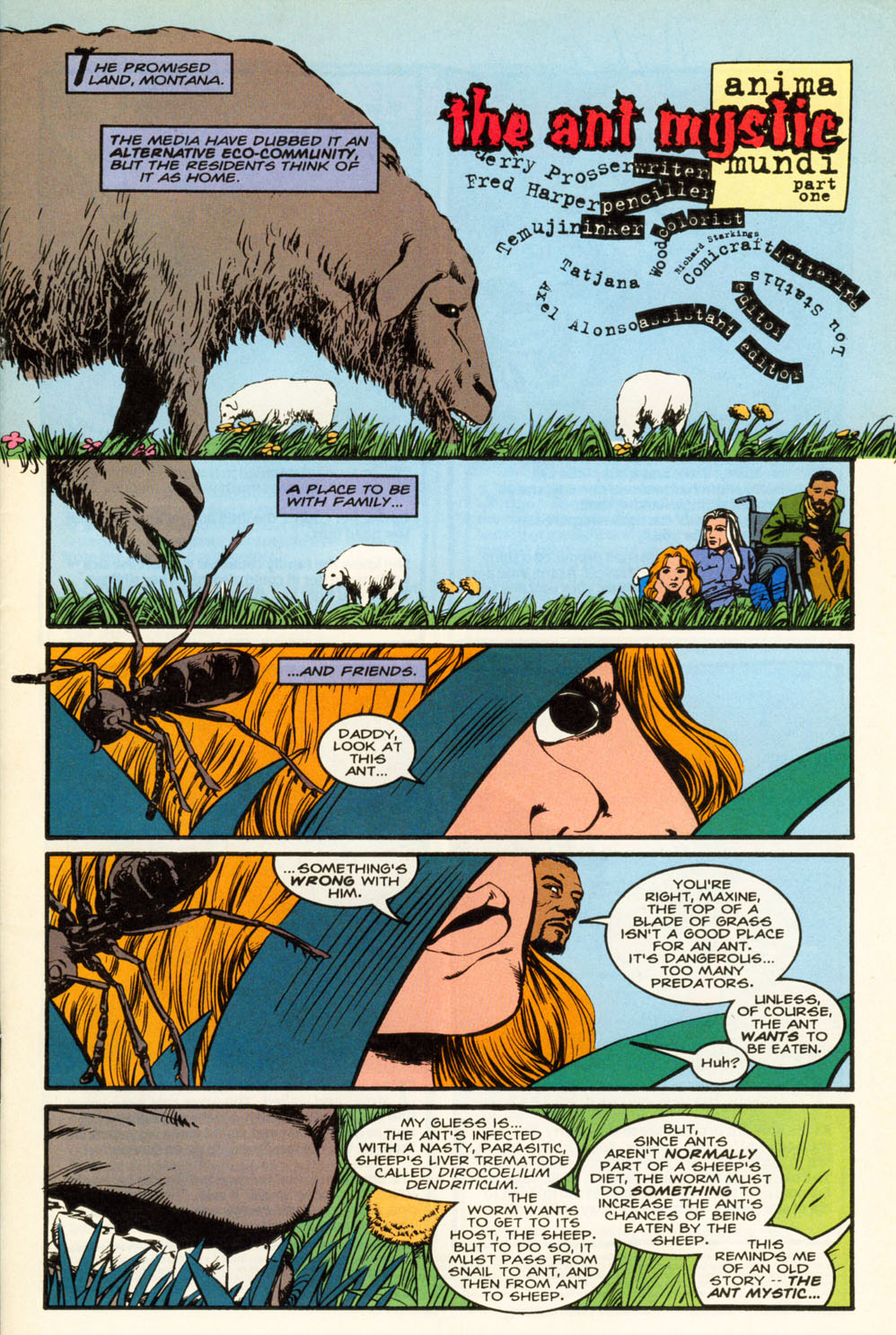 Read online Animal Man (1988) comic -  Issue #85 - 2