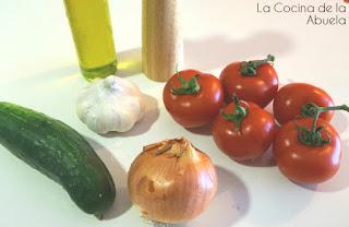 sopa fría tomate pepino ingredientes