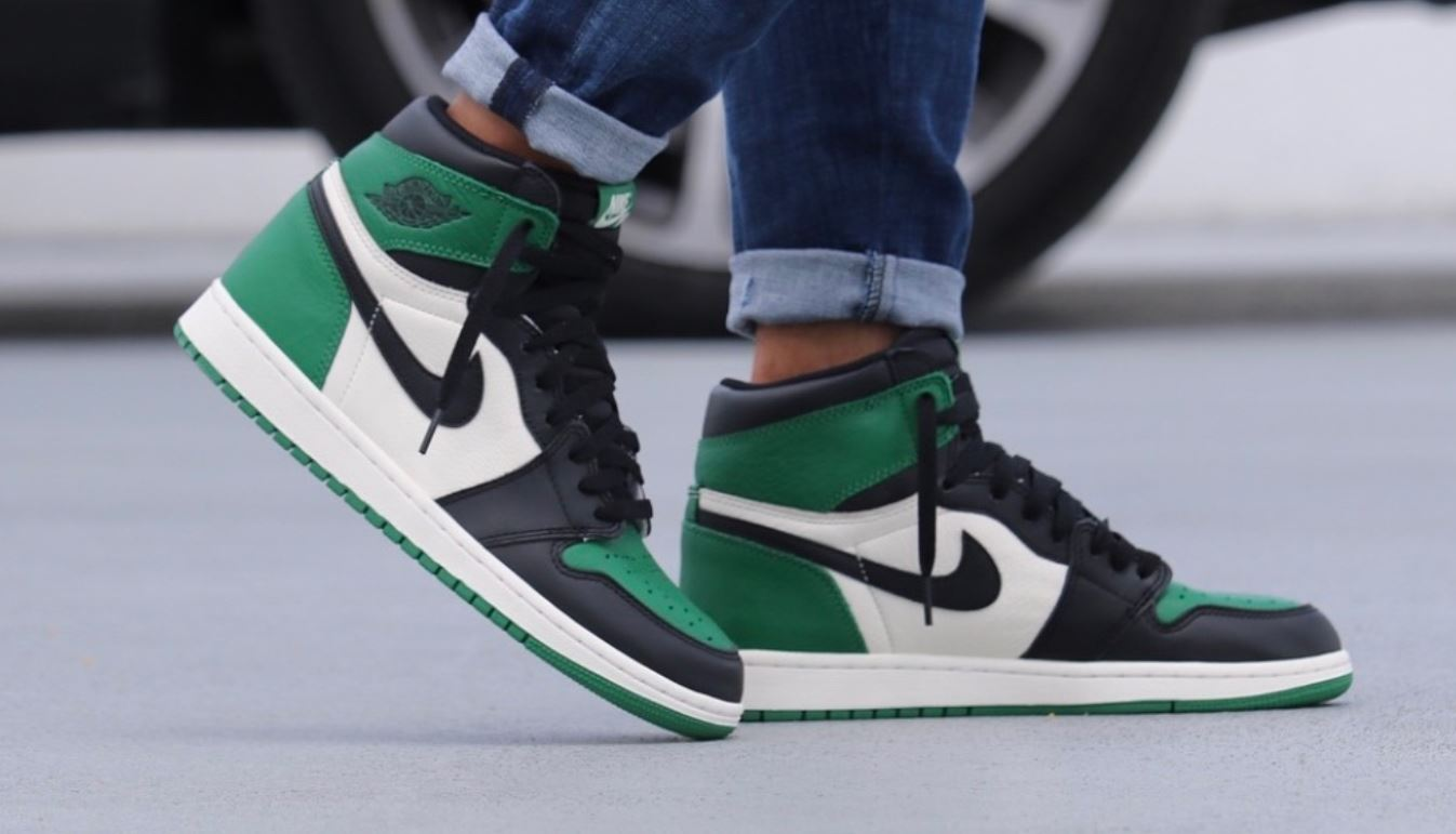 c49db97132411a Air Jordan 1 Pine Green 2018 Retro Sneaker (Detailed Look + Where to Find)