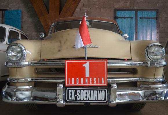 Mobil Kuno Presiden Soekarno