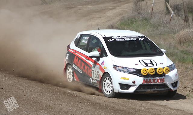 Honda Fit Rally Car